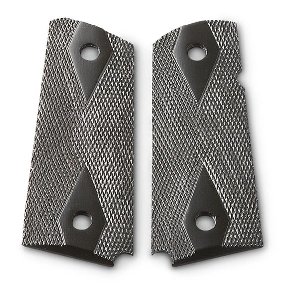 Para Pistol C7 LDA PDA Black Checker Grips Polymer Performance Upgrade Stylish