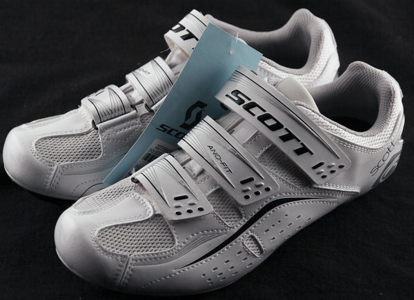 Scott Road Comp Lady Women's Road Cycling Shoes 3-bolt White NEW