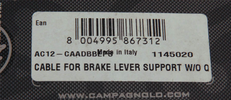 Campagnolo Campy EPS Cable for Brake Lever Support Wire AC12-CAADBBEPS NEW