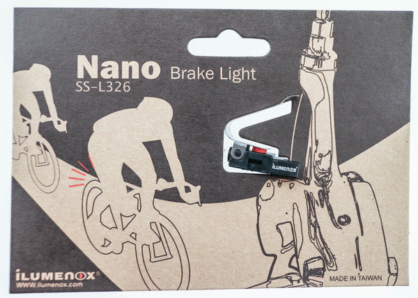 iLumenox Nano SS-L326 Rear Road Bike Caliper / V-Brake Brake Light NEW