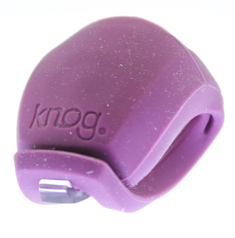 KNOG FROG Strobe Grape Rear Single RED LED Bike Light Silicone 2.5 Lumen NEW