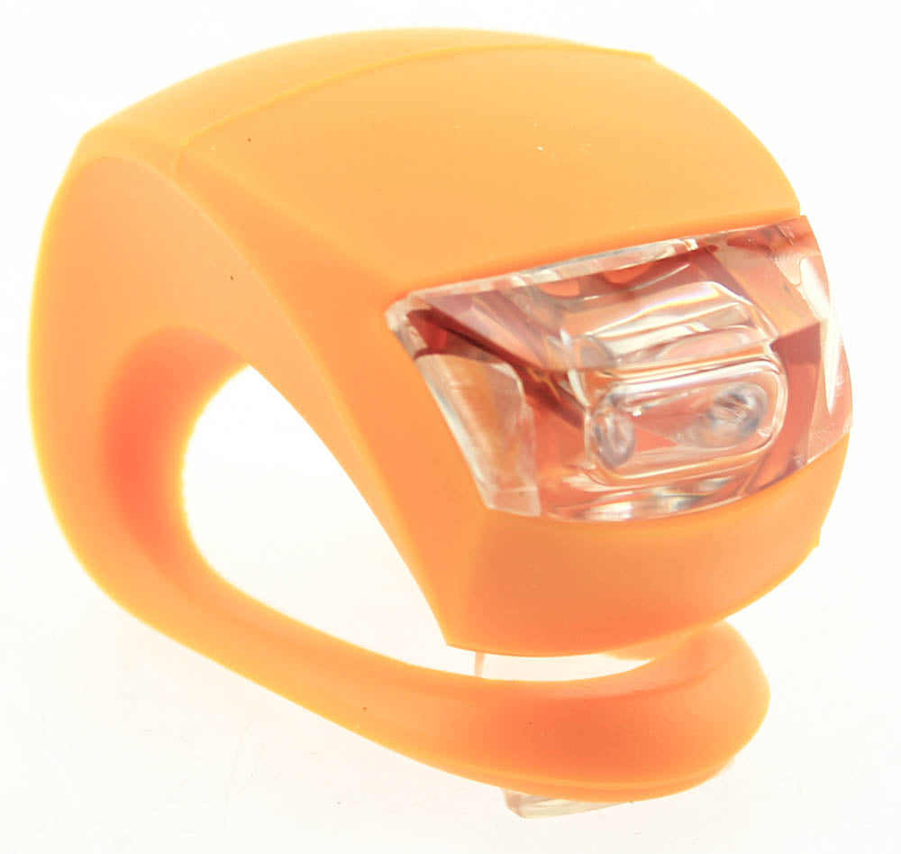 KNOG BEETLE 2 LED Bike Orange Rear Light 1.6 Lumens RED LED 3 Modes NEW