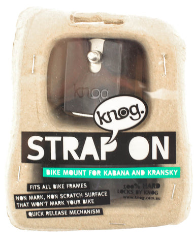 KNOG STRAP ON QR Bike Lock Mount Bracket For KABANA / KRANSKY Universal NEW