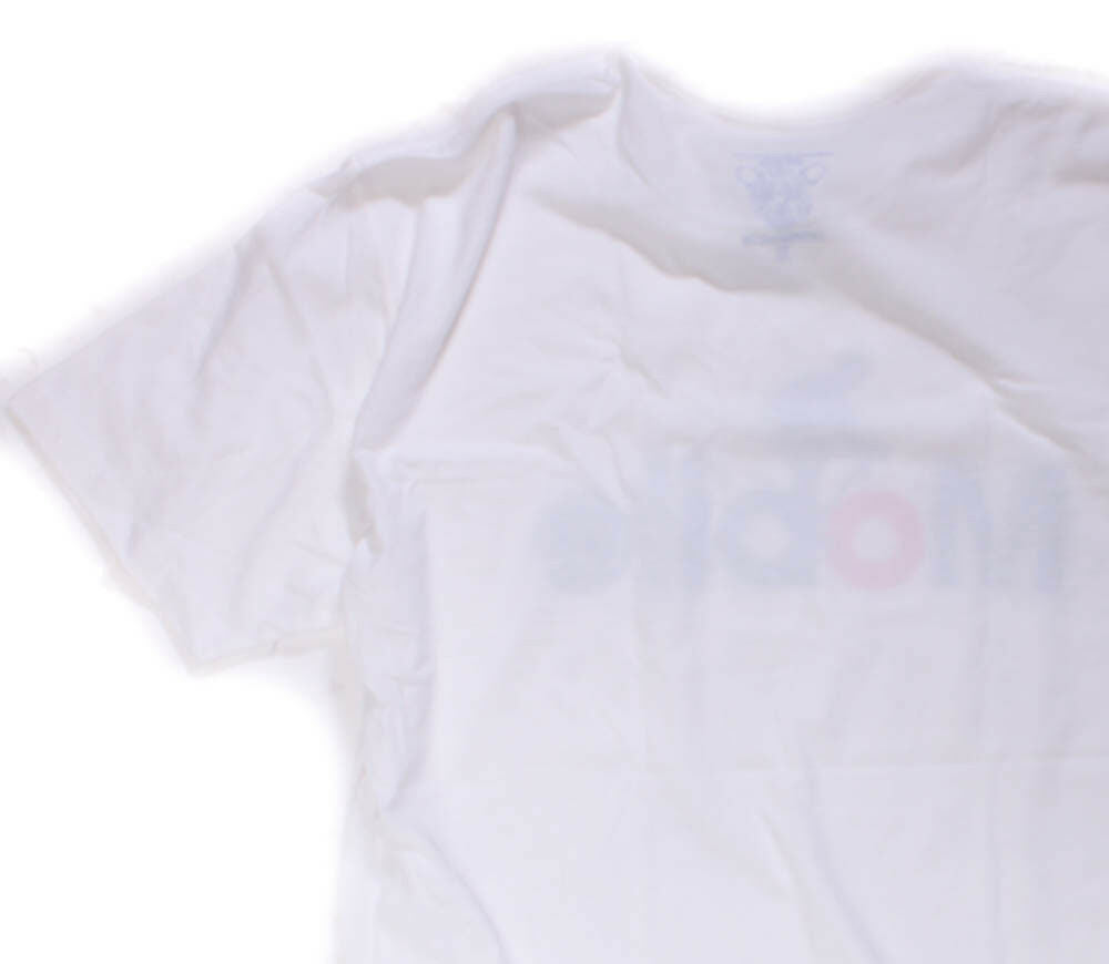 CLOCKWORK GEARS MOBILE Men's Small T-Shirt Short Sleeve White Cotton Crew NEW
