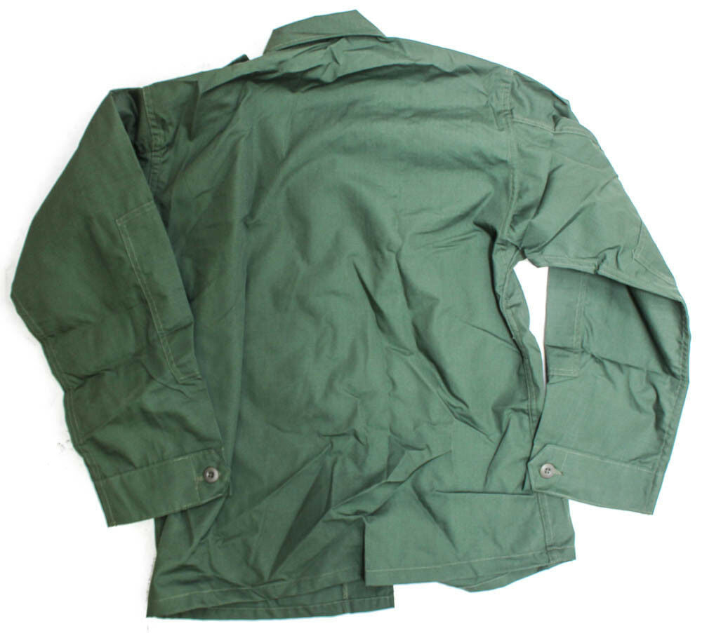 PROPPER BDU Coat Shirt Med/Long Military Specs 2 Pocket Poly/Cotton Green NEW