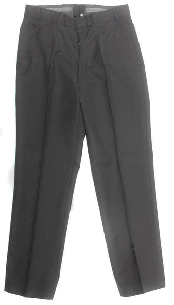 "Vintage Dress Slacks Pant Wool Blend Men's Grey Size 32 x 29"" Hemmed NEW"