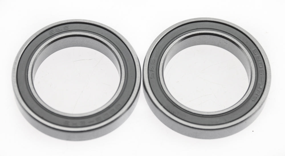 2 Quantity S & S 6085-2RS Sealed Cartridge Bearings NEW