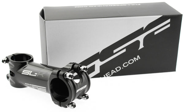 "FSA SL-K Bike Stem 31.8 x 110mm 1-1/8"" 3D Alloy Road / MTB Black Grey K NEW"
