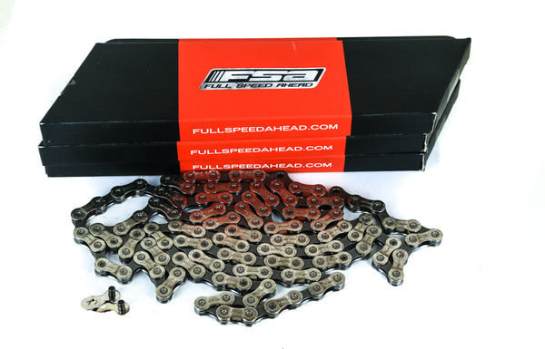 Lot of 3 FSA 9 Speed Road / MTB Bike Chains 116L + Master Link CN-906 New in Box