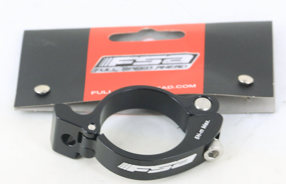 FSA FD-CP-BAZ Road Bike Front Derailleur Braze On Clamp Adapter 34.9mm Black NEW