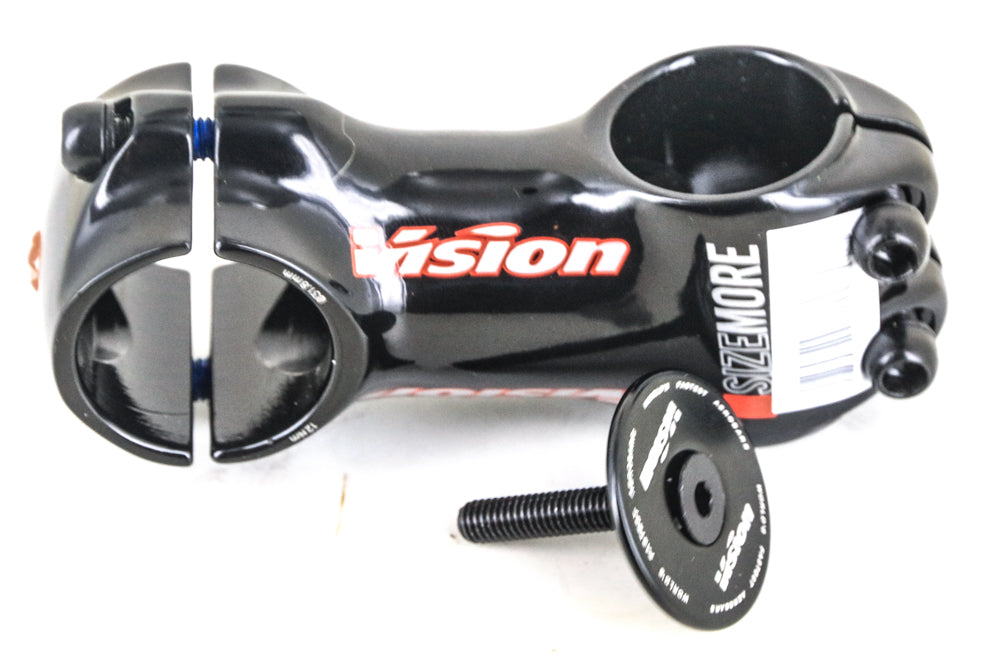 "Vision Sizemore Triathlon Road Bike Threadless Stem 1-1/8"" 100mm 31.8mm Stem NEW"