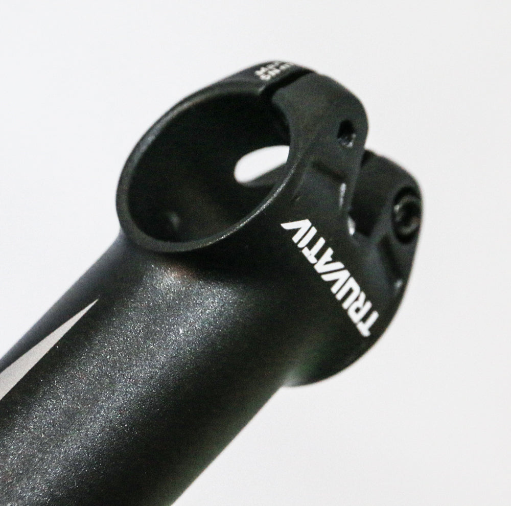 "TRUVATIV T20 STYLO Threadless Bike Stem 1-1//8/"" 31.8 90m Alloy Black NEW"
