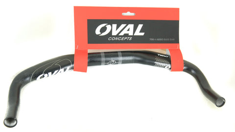 Oval Concepts 750 Alloy TT / Triathlon Bike Base Aero Bar 42cm 31.8mm NEW
