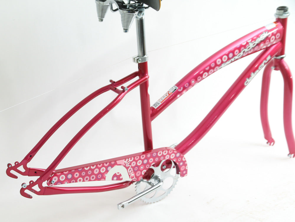 "Diamondback 16"" Della Cruz Single Speed Womens Cruiser Bike Frame Fork 26"" NEW"