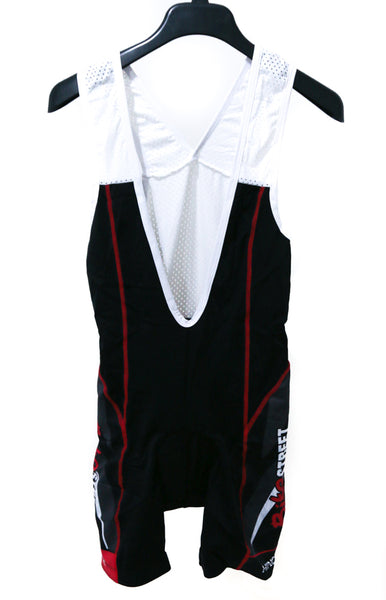 Hincapie Axis Women's Size X-Large Road Bike Cycling Bib Shorts Black / Red NEW