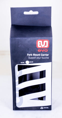 Evo 20mm x 110mm MTB Bike Through Axle Vehicle Fork Mount Carrier NEW