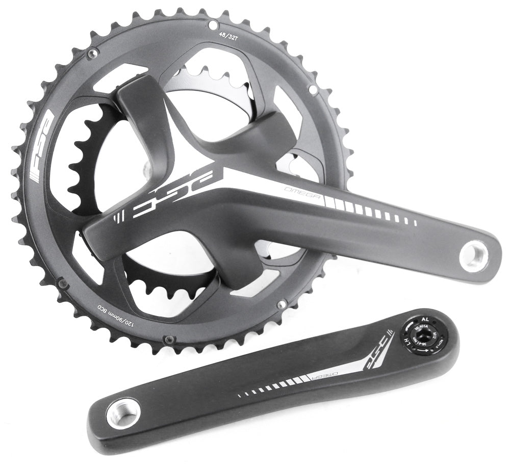 FSA Omega 10/11s Road Bike Compact 19mm Megaexo Crankset 170mm 48/32T 569g NEW