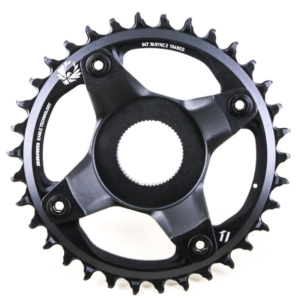 SRAM Eagle 12 Speed X-Sync Crankset Chainring + Spider 104mm Boost BCD 34T NEW