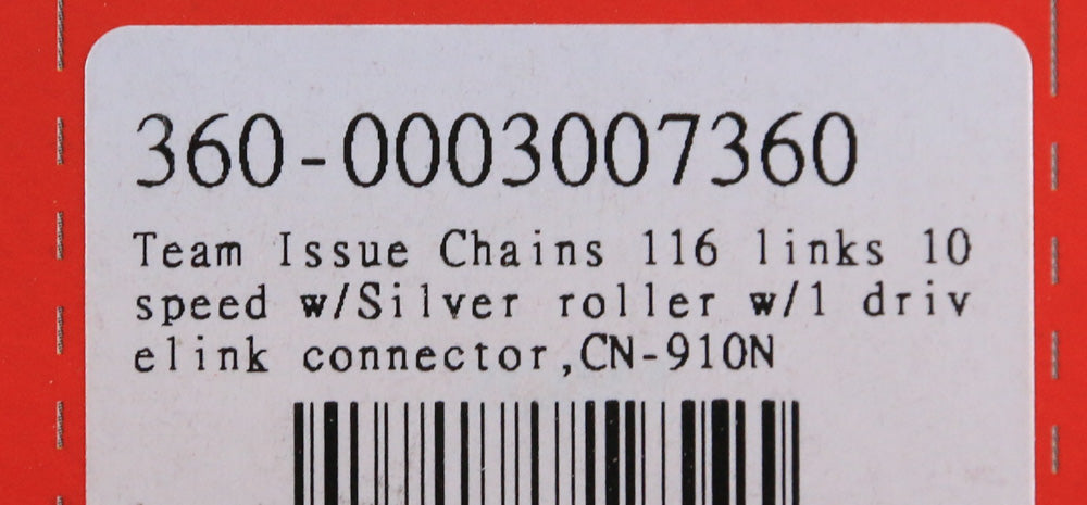 FSA Team Issue Chain CN-910N 10 Speed 116 Links w/ Master Link NEW