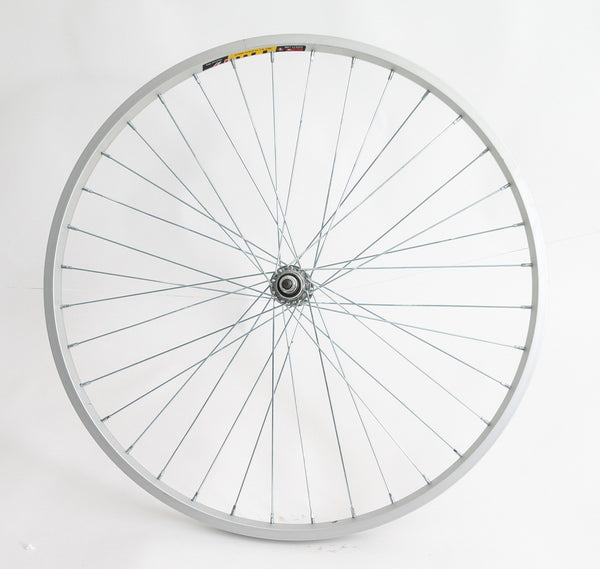 "26"" Weinmann TM19 Hybrid Mountain Bike Front Wheel Nutted 3/8"" Axle Alloy NEW"