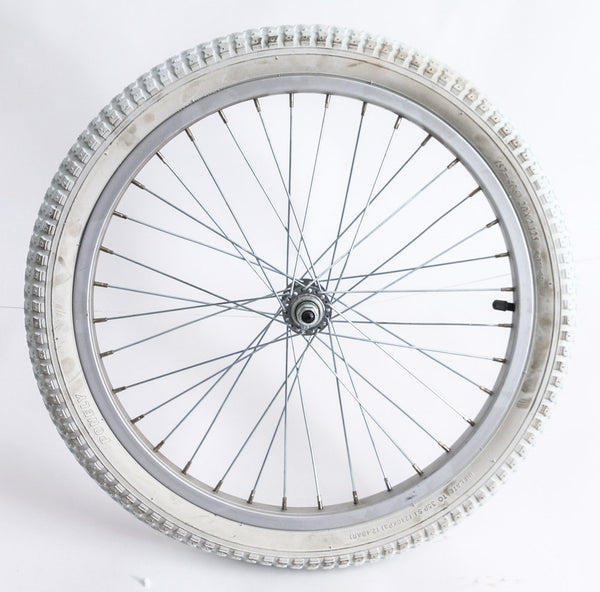 "20"" Kids Youth Girls Boys Bike Front Wheel With Tire 3/8"" Axle NEW"