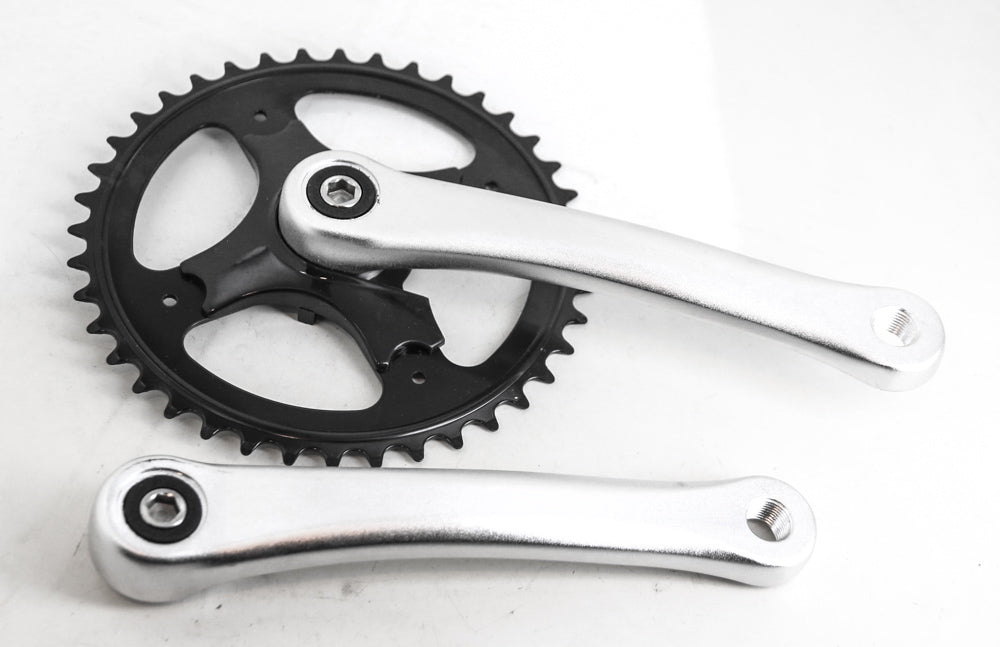 Square Taper Single Speed Cruiser Bike Crankset 170mm 40T NEW