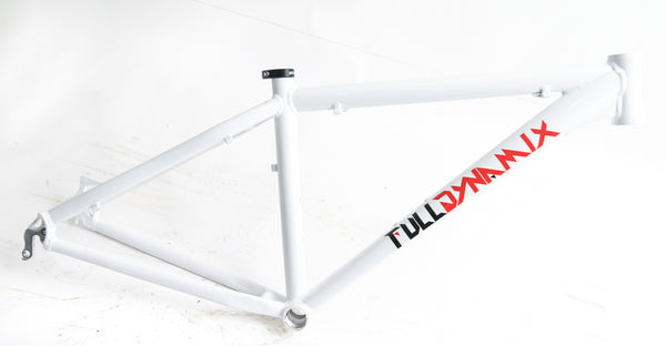 "Full Dynamix 26"" Aluminum 20.5"" Hardtail Mountain Bike Frame Disc White NEW"