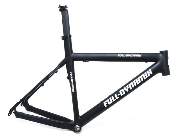 "Full Dynamix 17"" Swat 26"" Carbon Fiber Hardtail MTB Bike Frame QR Disc NEW"