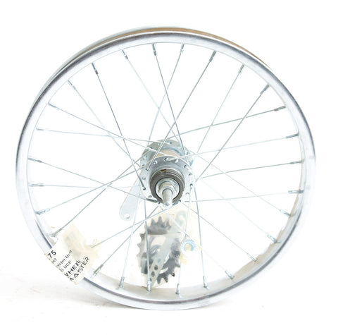 "16"" Kids Youth Boys Girls Bike Rear Steel Wheel Coaster Brake 3/8"" Axle NEW"