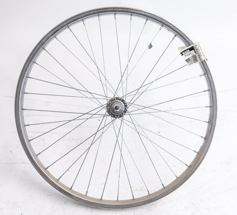 "24"" x 1-3/8"" Rear Vintage Schwinn Bike Steel Nutted Axle Freewheel NEW"