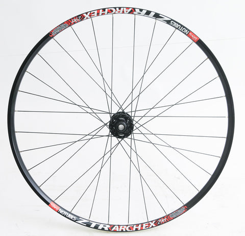Stans ZTR Archex SRAM X9 15mm 29er Mountain Bike Front Wheel Disc NEW