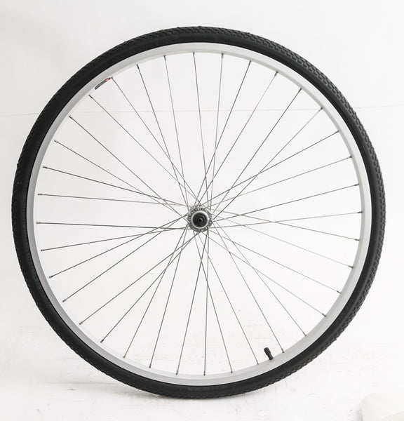700c Hybrid / Road Bike Front Wheel Aluminum Rim + Tire QR NEW