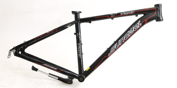 "Sundeal T2 700c 17"" Disc Hybrid Commuter Bike Frame Aluminum NEW"
