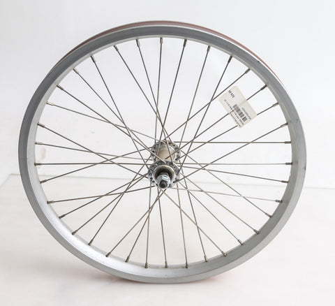 "20"" Kids Youth BMX Bike Front Wheel 3/8"" Aluminum Rim NEW"