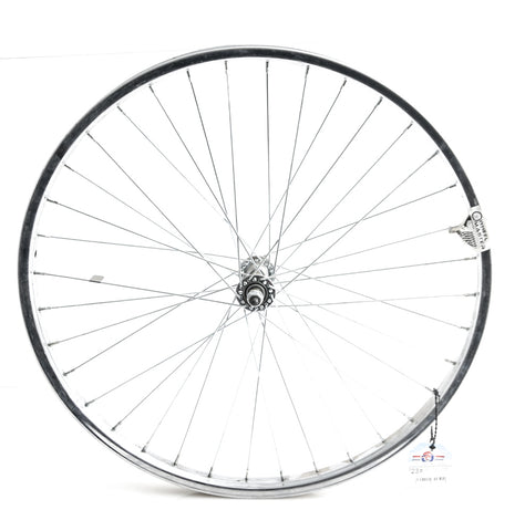 "24"" Kids Youth Boys Girls Steel Front Bike Wheel Nutted Axle NEW"