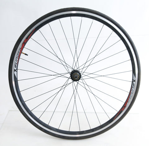 Sundeal 700c Road Hybrid CX Bike Rear Wheel + Tire Freewheel Compatible QR NEW