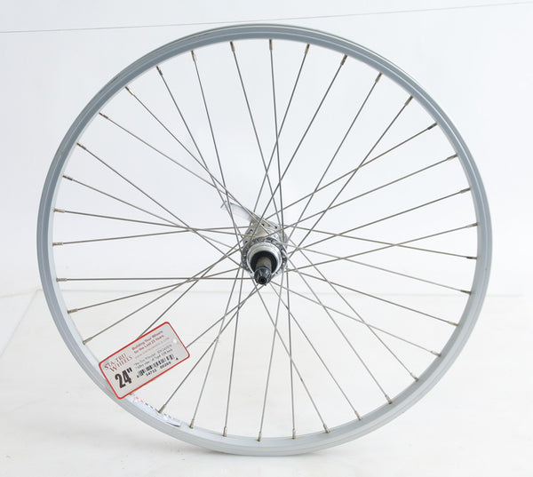 "24"" Xrims Y2000 Rear Hybrid Road Bike Wheel Freewheel QR Aluminum NEW"