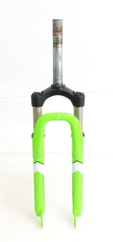 "26"" Sundeal 1-1/8"" Threadless MTB Bike Suspension Fork 7-1/8"" QR Disc NTO"