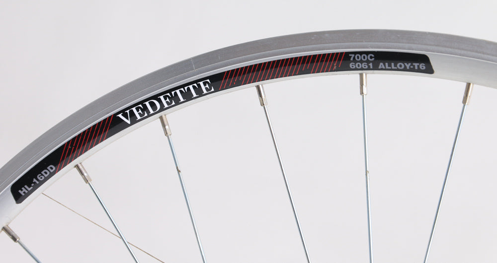 Vedette 700c Front Road / Hybrid Bike Double Wall Aluminum Rim QR NEW Blemished