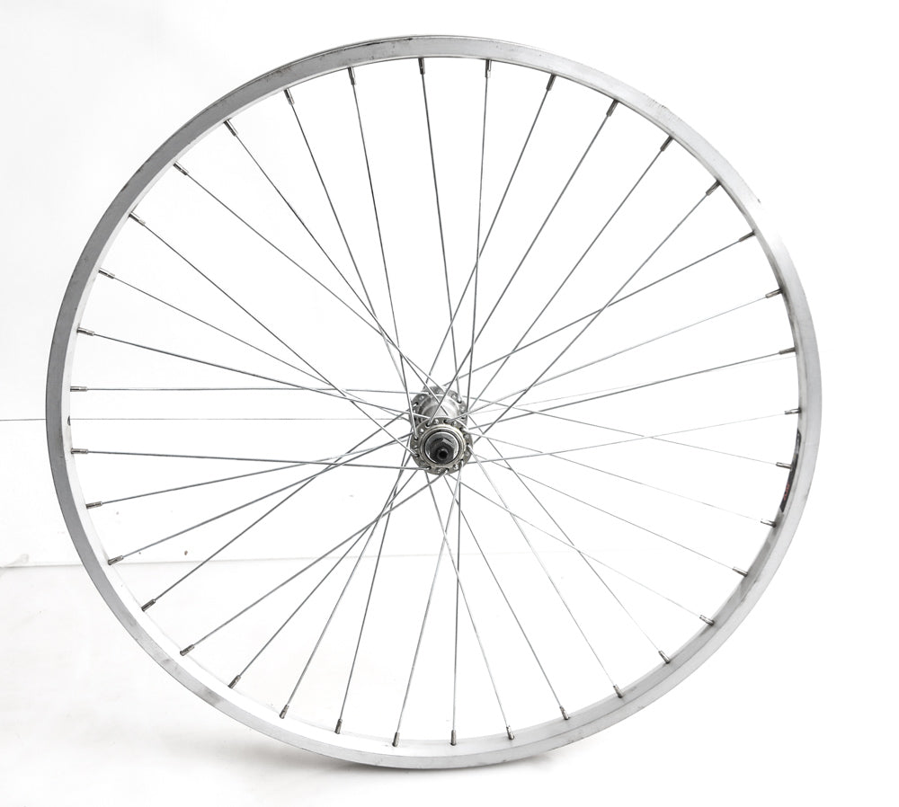 "26"" XRP Mountain Bike Front Wheel  Silver QR x 100mm NEW"