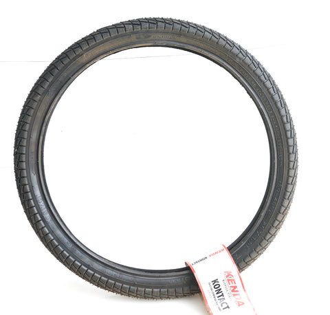 "1 QTY Kenda KONTACT 20 x 1.95"" BMX Bike Tire Semi-Slick Wire Bead New"