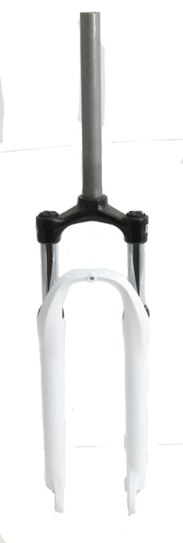 "Suntour 1-1/8"" Threadless 26"" QR MTB Bike 75mm Suspension Fork White NEW"