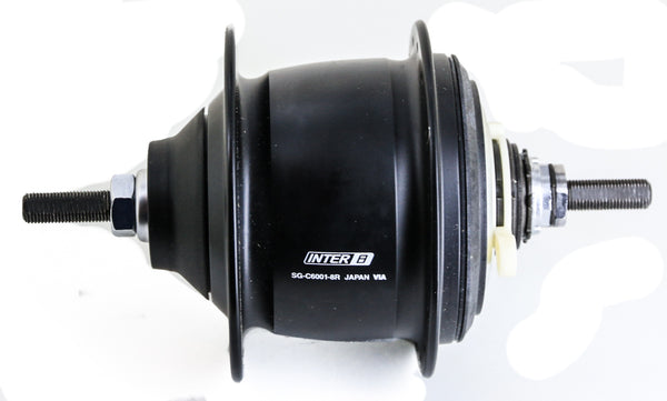 Shimano Nexus Inter 8 Speed SG-C6001-8R Internally Geared Rear Bike Hub NEW