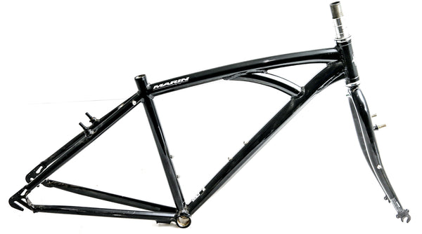 "17"" Marin Bridgeway Single Speed Fixie 700c Aluminum Bike Frameset NEW"