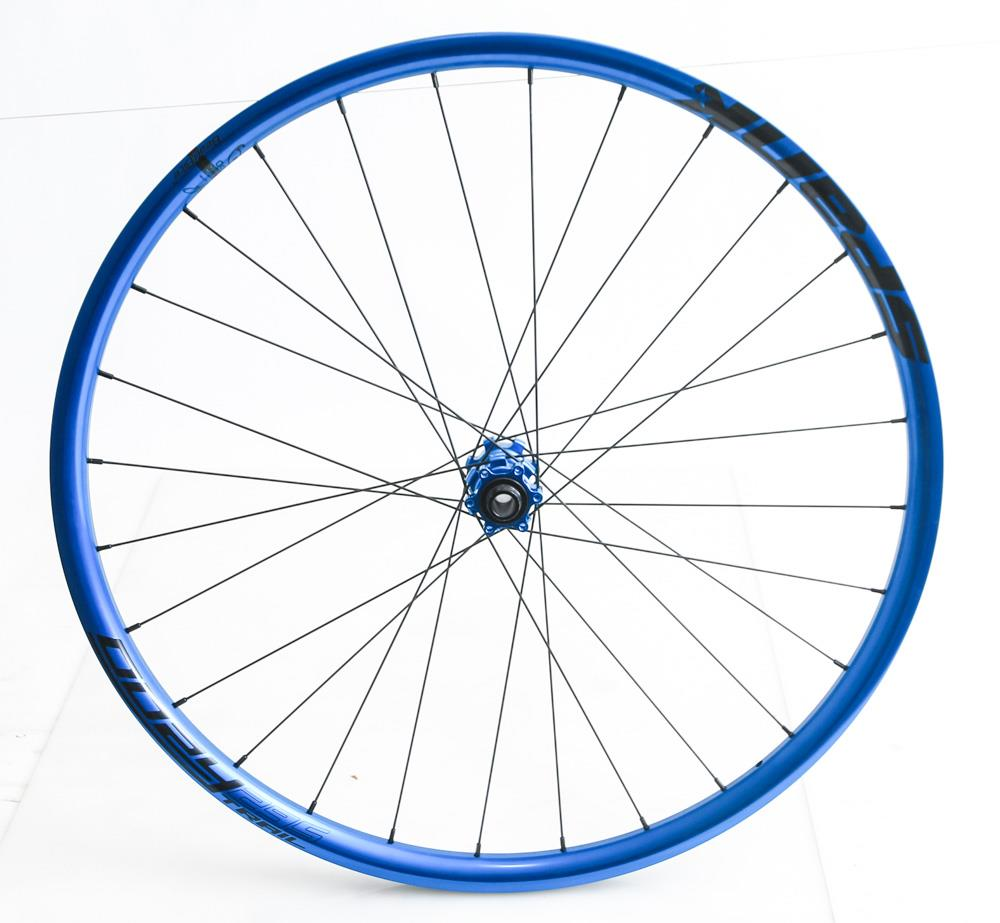 "Spank Oozy Trail 295 27.5"" MTB Bike Front Wheel 15mm x 100mm Blue NEW"