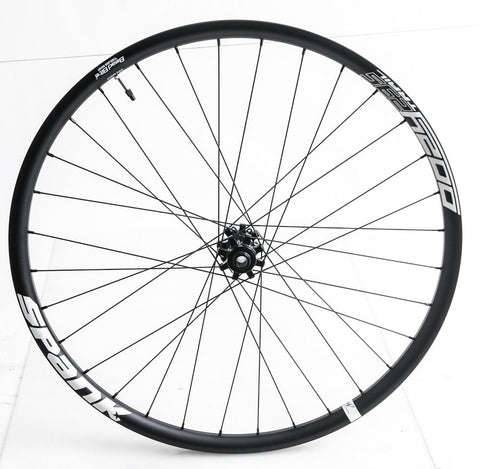 "Spank Oozy Trail 295 27.5"" 650b Front MTB Bike Wheel 15 x 100mm Tubeless NEW"