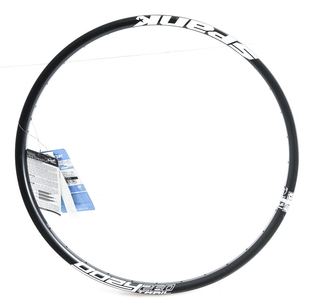 "Spank Oozy Trail 260 Evo 32h Hole 26"" 559 x 21 Mountain Bike Front Wheel Rim NEW"