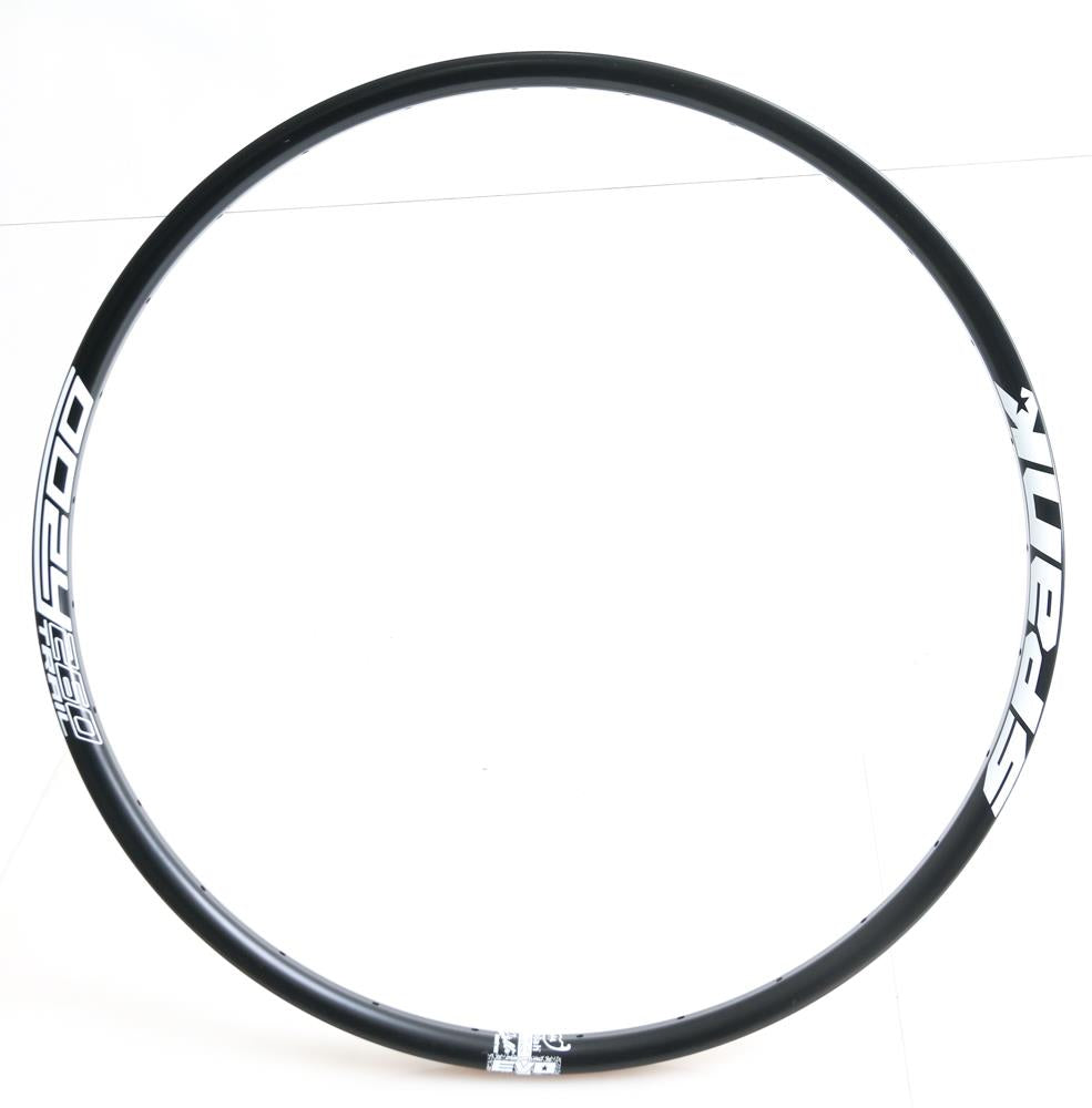 "Spank Oozy 260 Trail 27.5"" 650B 28h Hole Black MTB Bike Wheel Rim NEW"