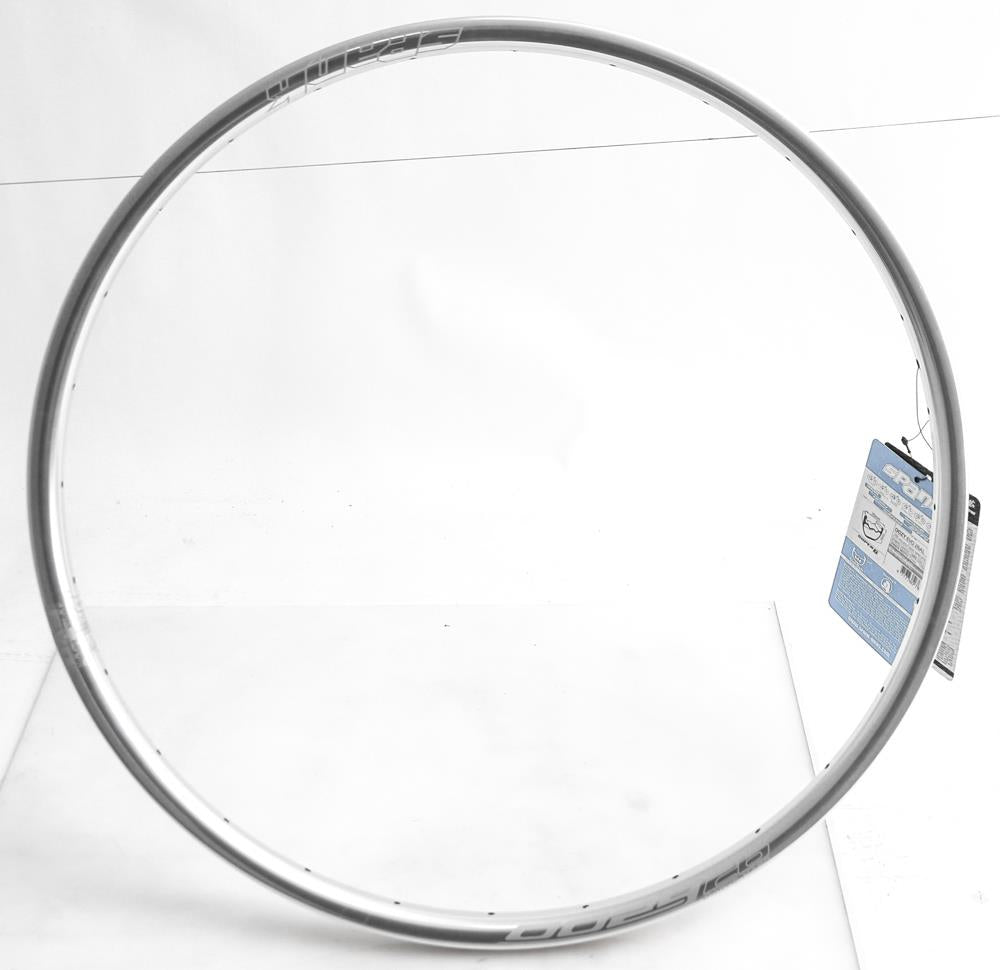 "Spank Oozy Evo 26AL 28 Hole 27.5"" 650b Mountain Bike Wheel Rim Silver 440g New"