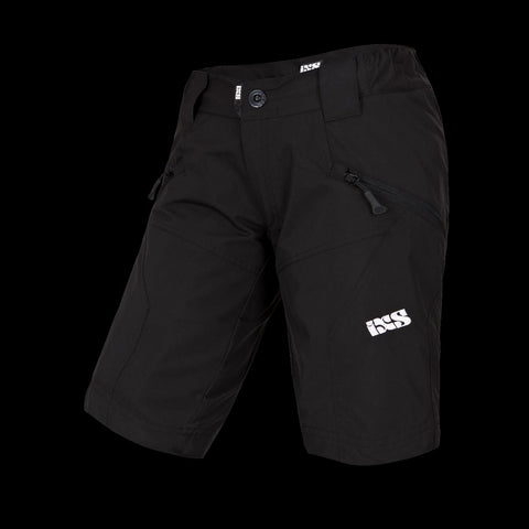 IXS ASPER 6.1 Large YOUTH Cycling Bicycle Bike SHORTS BLACK KL New